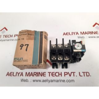 Fuji electric tr-1onlh/m1 thermal overload relay