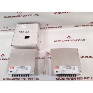 Mean Well S-250-48 Switching Power Supply 48Vdc 5.2A